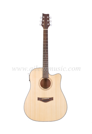 Winzz New Carbon Fiber Acoustic Guitar (AF485CE)